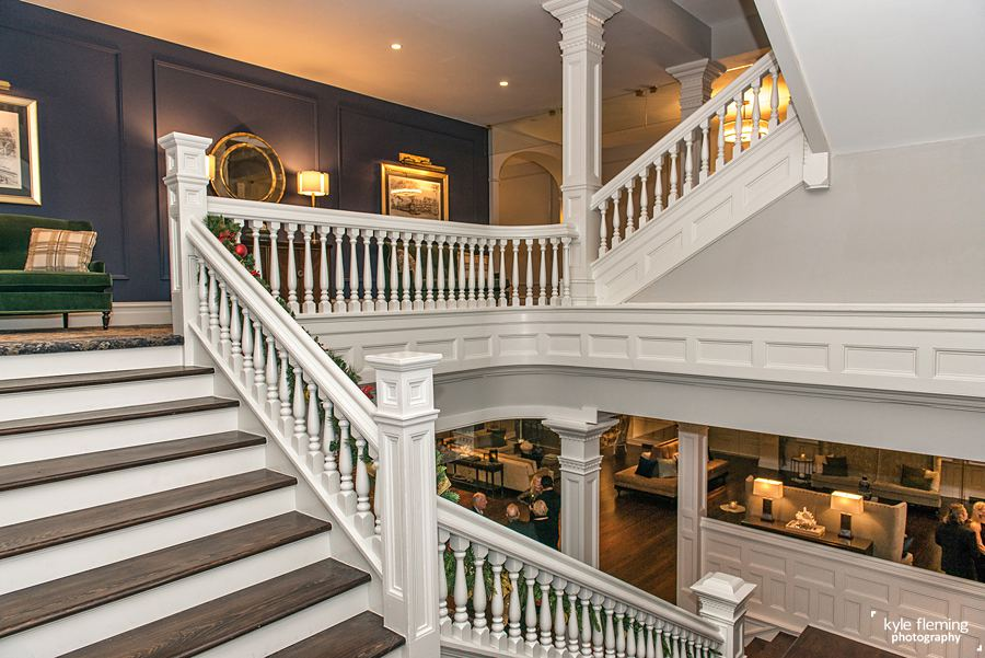 Kyle Fleming Photography - Belleview Inn Staircase