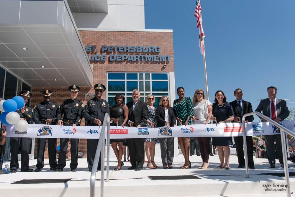 Kyle Fleming Photography Grand Opening St. Pete Police Dept Headquarters