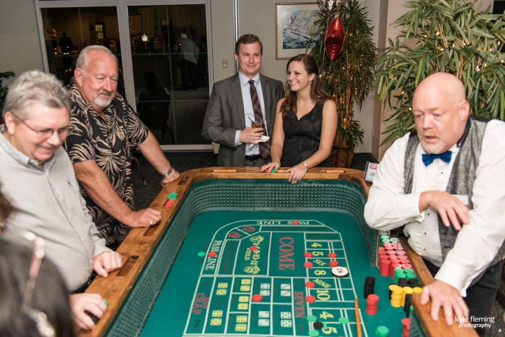 Casino Night Event Photography