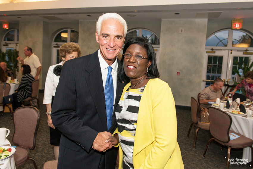 Charlie Crist and Kimberly Rodgers