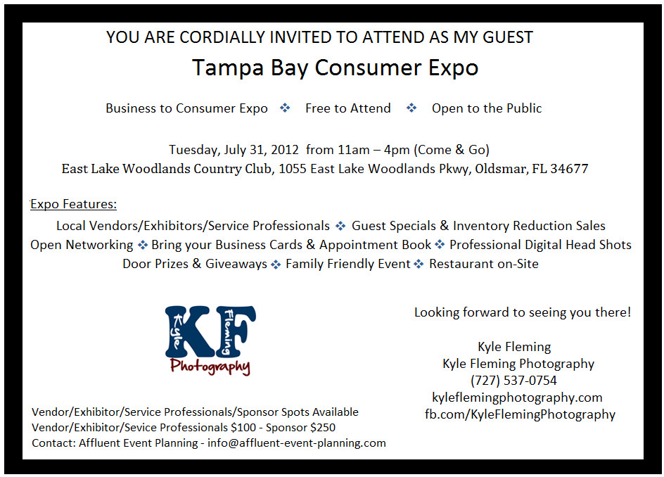Tampa Bay Consumer Expo East Lake Woodlands Country Club