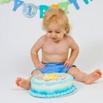 1st Birthday Baby Cake Smash