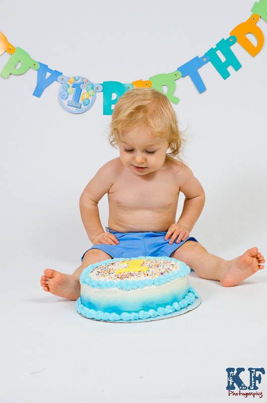 1st Birthday Baby Cake Smash