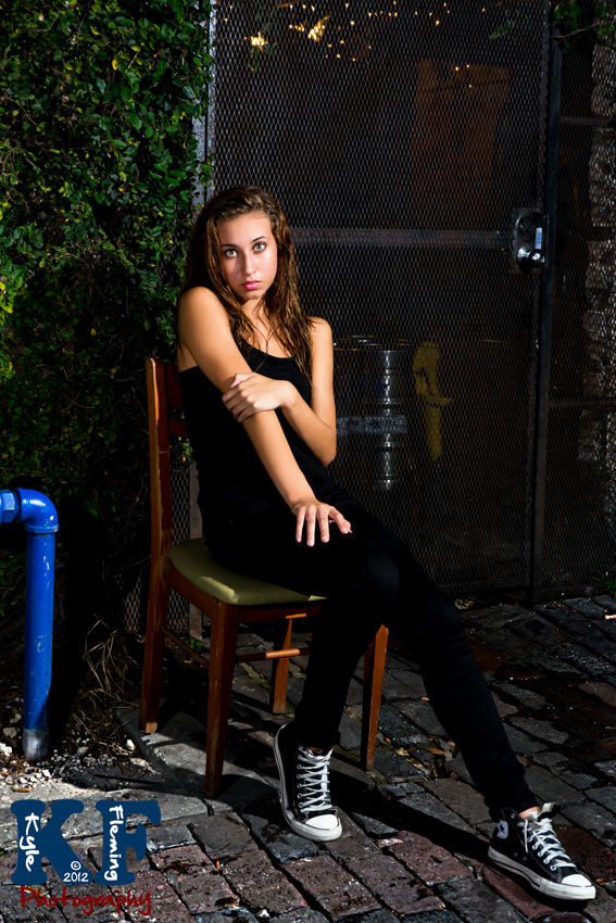 Model in St. Petersburg, Florida