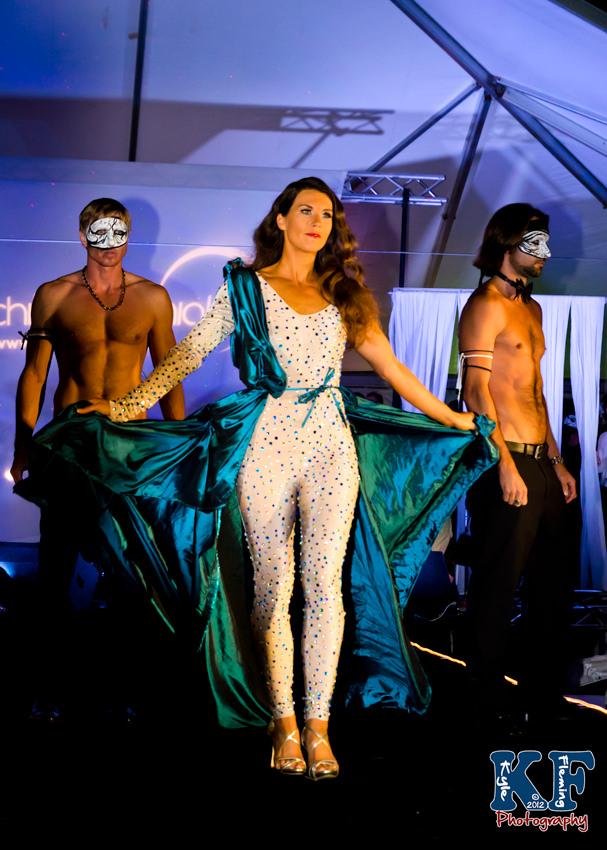 Monica Milan wearing Fransisco Azucar
