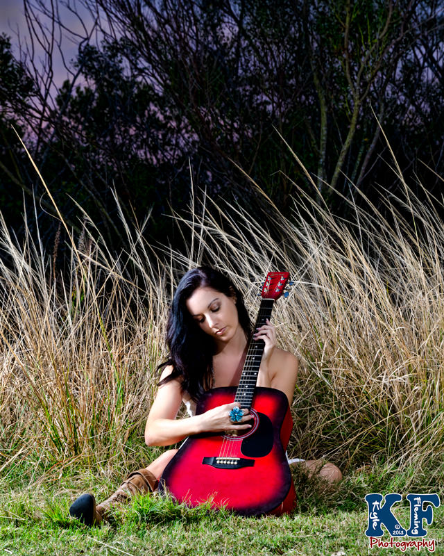 Kyle Fleming Photography Girl with a Guitar