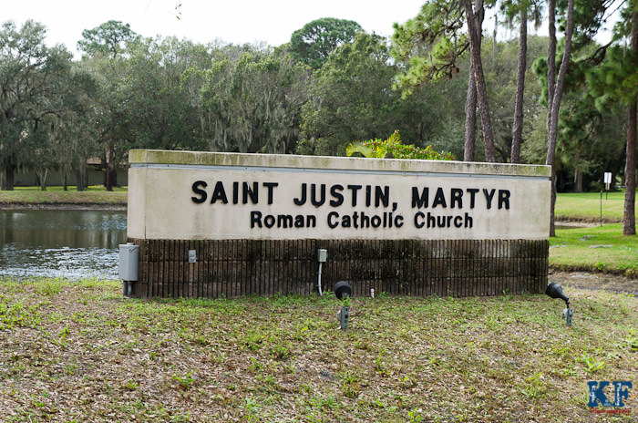 Saint Justin Martry Jesse's Baptism