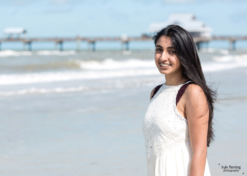 Kyle Fleming Photography_Senior Portrait Clearwater Beach