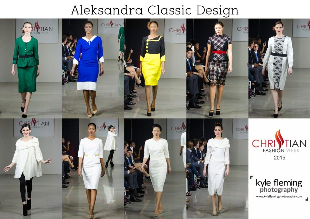 Christian Fashion Week - Aleksandra Classic Design