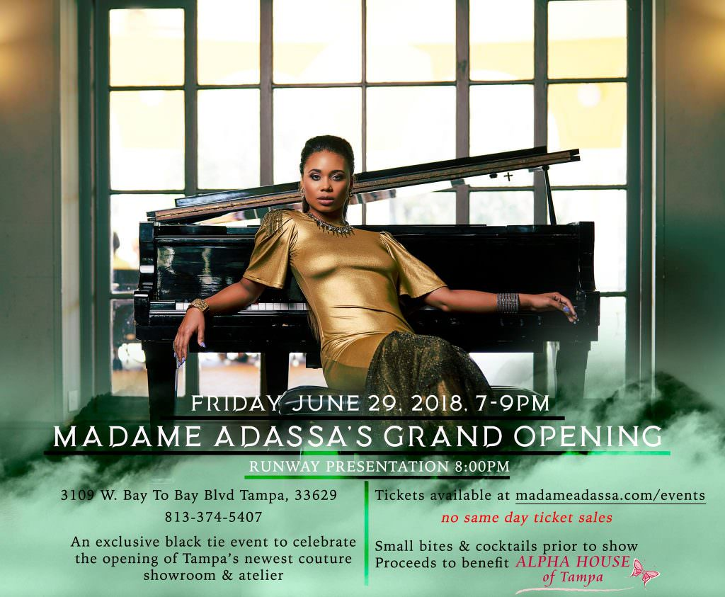 Madame Adassa Grand Opening