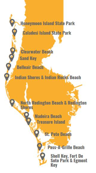 Pinellas County Beaches
