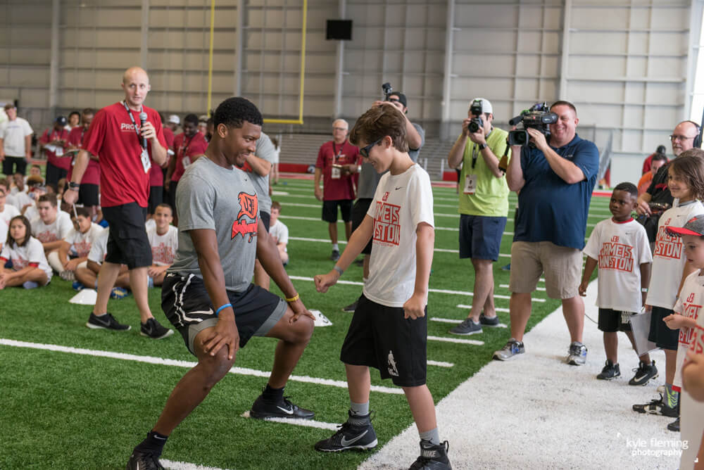 Event Photography Jameis Winston Pro Camps