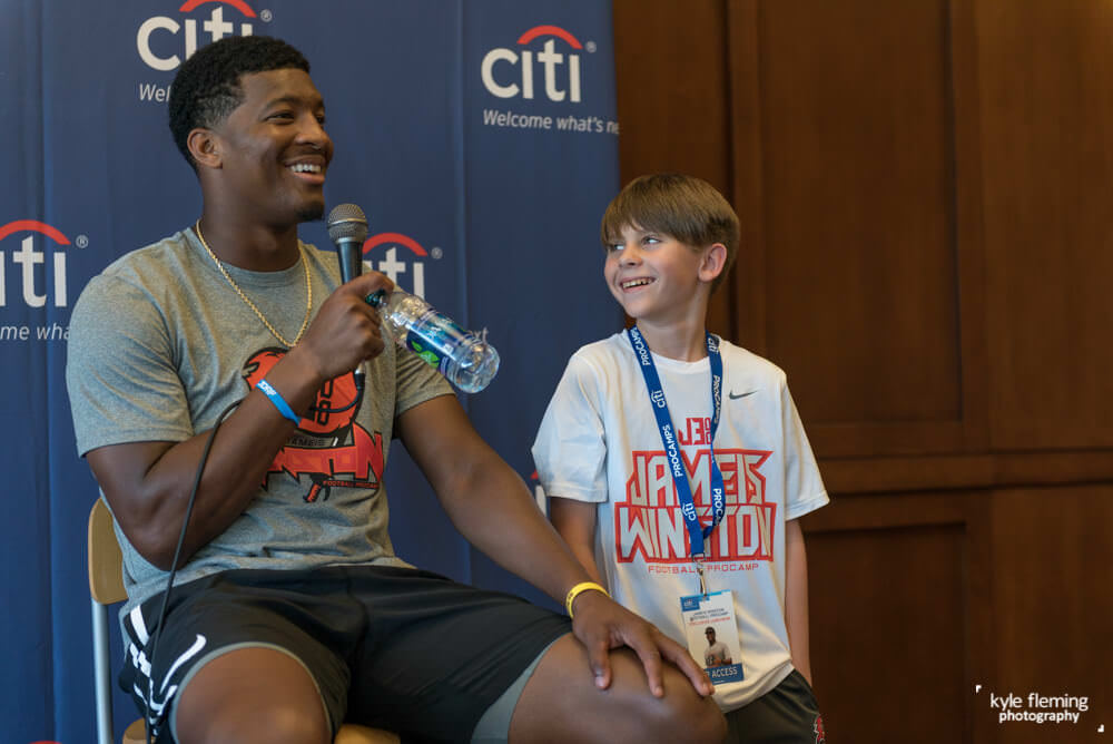 Kyle Fleming Photography - Citi Private Pass Jameis Winston Pro Camps